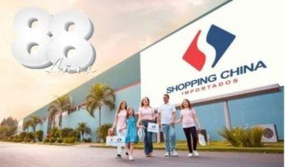 Shopping China celebra 88 años con grandes descuentos en todos los sectores