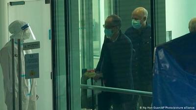 Expertos OMS llegan a Wuhan para estudiar origen del coronavirus
