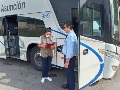 Instalación de más puntos de entrada al país refuerza control de viajeros