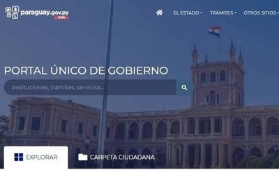 HOY / ¿Qué trámites se pueden realizar en el Portal Único del Gobierno?