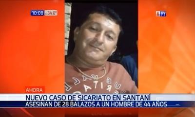 Hombre muere tras sufrir cerca de 30 balazos en Santaní