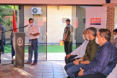 Gobierno inaugura millonarias obras de infraestructura eléctrica en Villa Hayes