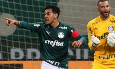 Gustavo Gómez llegará para la final de la Libertadores