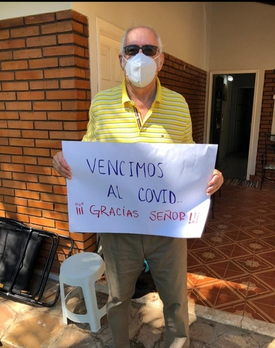 El DR. JUAN RAMIREZ SE RECUPERÓ DEL COVID