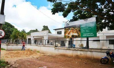 Obras en Hospital Distrital de Minga Guazú con 90% de avance