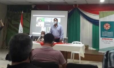 Caazapá: Realizan el primer taller del plan vial participativo de caminos vecinales