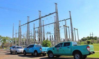 ANDE inaugura en Villa Hayes obras de infraestructura eléctrica