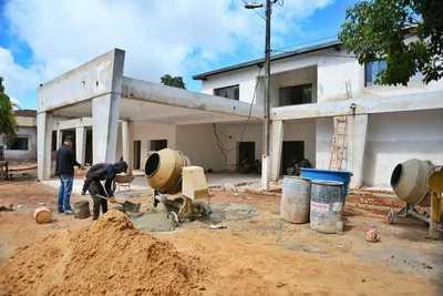 Obras en futuro Hospital de Minga Guazú tiene 90% de avance