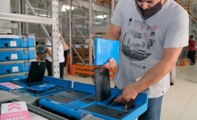 Verifican y testean 3.000 máquinas de votación de cara a las internas