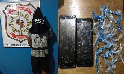 Presunto distribuidor de crack fue aprehendido en Campo 9 – Prensa 5