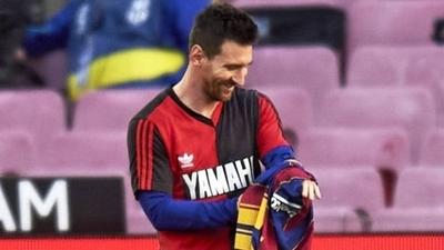 HOY / Confirmada tarjeta a Messi por quitarse camiseta y homenajear a Maradona