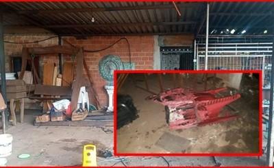 """""""Asadito San José"""" es consumido por incendio tras corto circuito"""