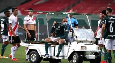Gustavo Gómez podría volver a tiempo para la gran final de la Libertadores