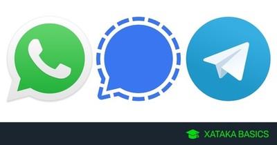 WhatsApp, Signal y Telegram: en qué se diferencian y cuál ofrece más privacidad