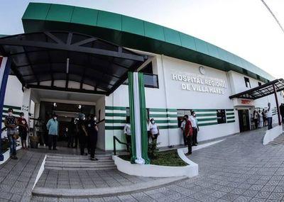 Inauguran obras de mejoras y equipamientos al Hospital de Villa Hayes