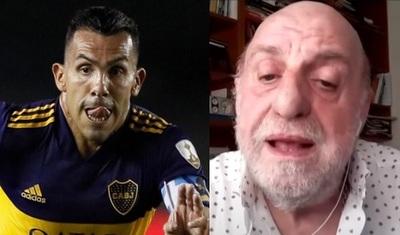 """""""Tevez es un jugador sobrevalorado por la prensa"""""""
