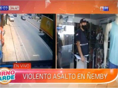 Violento intento de asalto en Ñemby deja tres personas heridas