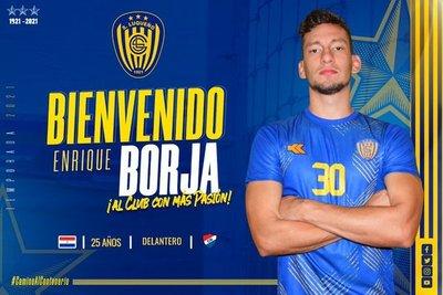 Enrique Borja vestirá los colores del Sportivo Luqueño