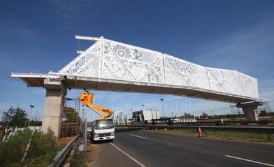 HOY / Pasarela de Oro: disponen intervención de la Dirección de Obras del MOPC