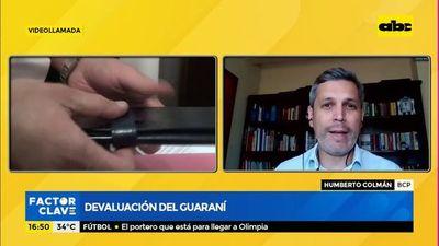 Devaluación del Guaraní