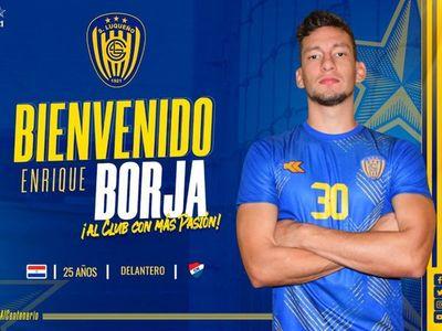 Borja es nuevo refuerzo de Luqueño