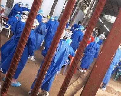 Sistema penitenciario sacudido por casos de covid en internos, guardiacárceles, funcionarios y personal de blanco