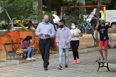 Paraguay suma 1.048 casos de coronavirus y los contagios ascienden a 119.640