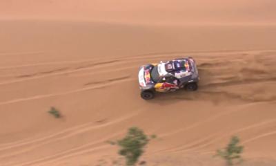 Stéphane Peterhansel, a un paso de consagrarse campeón del Dakar