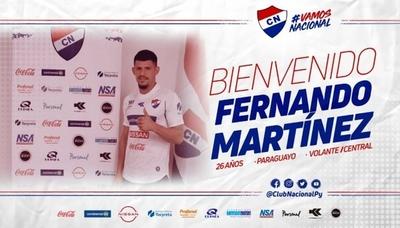HOY / Nacional anuncia la llegada de Fernando 'Chapa' Martínez