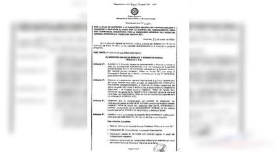 HOY / Ministerio de Salud autoriza compra de Zolgensma para tratar a la pequeña Bianca