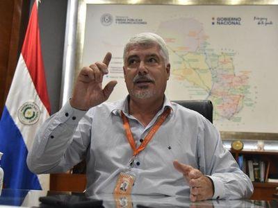 Wiens castiga al director de Obras que reveló tráfico de influencias en MOPC