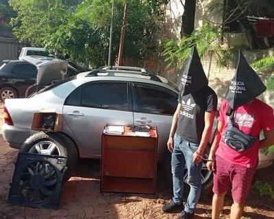 Agente policial fue detenido por extorsionar y privar de su libertad a un hombre