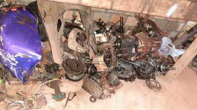Recuperan 12 motocicletas desarmadas durante operativos antirobamotos