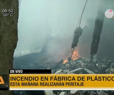 Así amaneció la zona del incendio en Itá Enramada