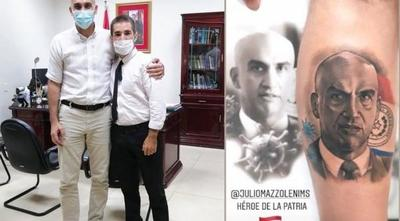 Conoció a su ídolo Mazzoleni – Prensa 5