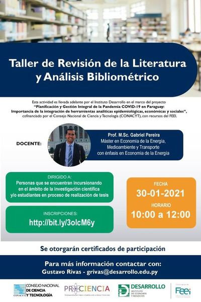 Invitan a taller para investigadores y estudiantes que están haciendo sus tesis