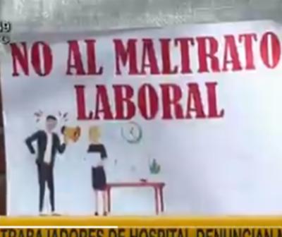 Trabajadores denuncian supuesto maltrato laboral en Hospital de Loma Pytã