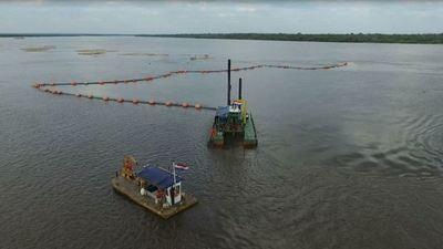 MOPC adjudicó a tres empresas el dragado de mantenimiento del río Paraguay