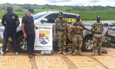 Tras persecución incautan carga de marihuana a orillas del río Paraná – Diario TNPRESS