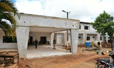 Obras de revitalización del Hospital Distrital de Minga Guazú alcanzan el 90% de avance – Diario TNPRESS