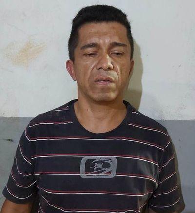 Cae supuesto microtraficante en Minga Guazú