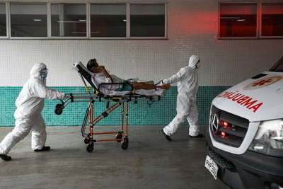 Brasil: Los médicos tienen que elegir a quién darle oxígeno