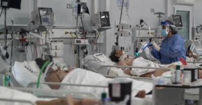 COVID-19: Récord de pacientes internados en terapia intensiva