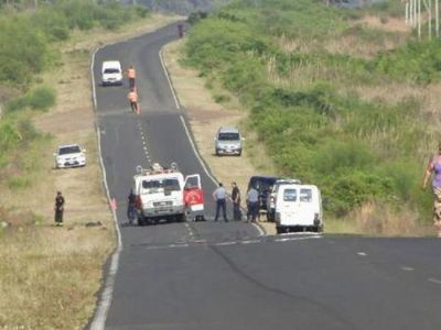 Ambulancia del Hospital Regional de PJC protagonizo accidente fatal