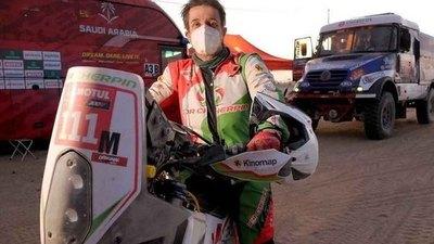 El piloto francés Pierre Cherpin murió en el Dakar