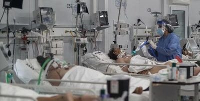 Récord de pacientes COVID internados en terapia intensiva