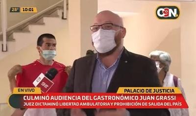 Imputado por manifestación dice que demostrará su inocencia en juicio