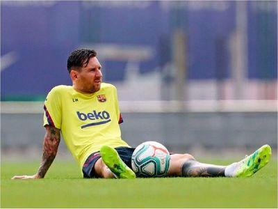 Messi no se entrena con el grupo a dos días de la final de la Supercopa