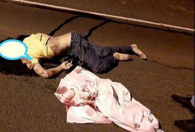 Ambulancia del Hospital Regional de Pedro Juan Caballero causa fatal accidente