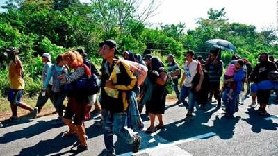 Envían 500 efectivos mexicanos a frontera con Guatemala